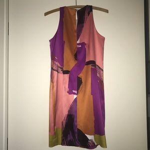 Ann Taylor Dresses - ✨petite silk sleeveless dress
